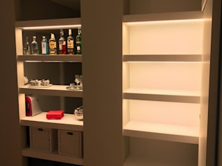studio G70_architetti Ruang Keluarga Modern