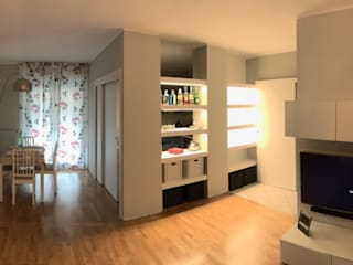 studio G70_architetti Salas de estilo moderno