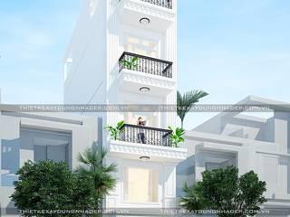 Thiết kế nhà ống tân cổ điển bởi Công ty cổ phần tư vấn kiến trúc xây dựng Nam Long Hiện đại