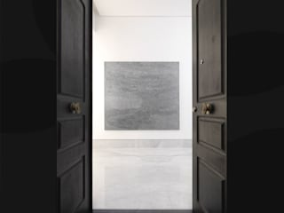 Minimalist corridor, hallway & stairs by giovanni francesco frascino architetto Minimalist