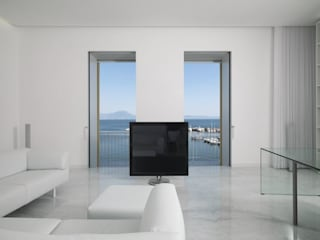 Minimalist living room by giovanni francesco frascino architetto Minimalist