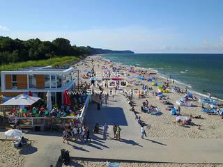 Bar na plaży Nowoczesne domy od Smart Mod Domy modułowe Nowoczesny