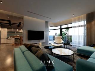 景寓空間設計 Industrial style living room