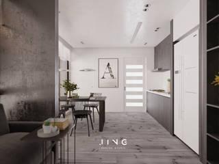 景寓空間設計 Minimalist dining room