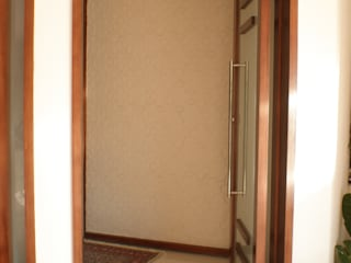 Reforma de Residência – Alphaville, S. Parnaíba - SP Corredores, halls e escadas modernos por Cristhiano Aguiar - Arquitetura Moderno