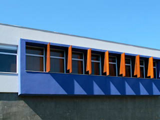 Construção do escritório do Instituto AOCP, Maringá – PR Escritórios modernos por Cristhiano Aguiar - Arquitetura Moderno