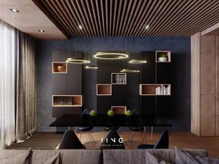 Phòng ăn by 景寓空間設計