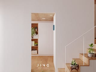 Kaohsiung 蔡宅 现代客厅設計點子、靈感 & 圖片 根據 景寓空間設計 現代風