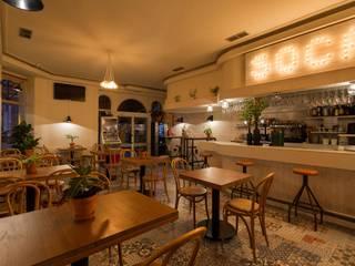 Diseño y decoración de una cafetería en a Coruña: Bares y Clubs de estilo  de Imaisdé Design Studio