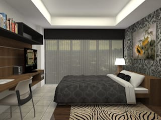 Interior Apartemen Beverly :   by Koloni Tri Arsitama
