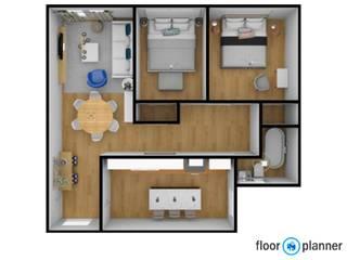 Home Stage de apartamento em Lisboa por Atelier Decoração Interiores by Pippa & Paola