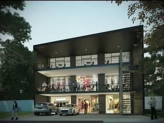 Locales comerciales El Tesoro Centros comerciales de estilo moderno de IVSa Arquitecto´S Moderno