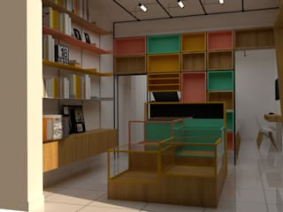 Study/office by DIS.OLIVER QUIJANO