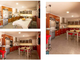 Nhà bếp phong cách hiện đại bởi EOC DESIGN Hiện đại