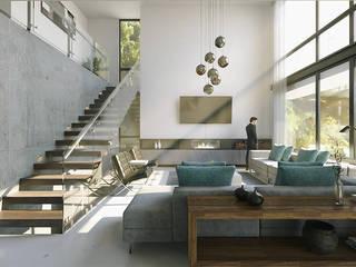 ห้องนั่งเล่น โดย CODIAN CONSTRUCTORA, มินิมัล