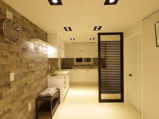 DESIGNCOLORS Modern kitchen Grey