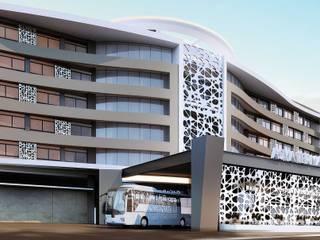 ANTE MİMARLIK Hoteles de estilo moderno