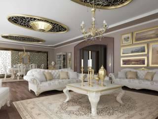 ANTE MİMARLIK Salones de estilo clásico