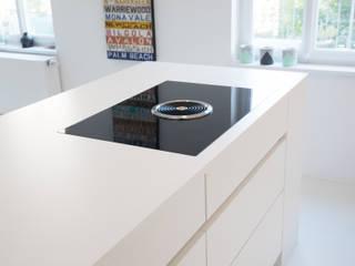 Neue Räume GmbH CocinaMesadas de cocina Blanco