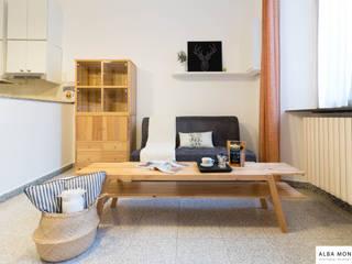 Salón después:  de estilo  de Alba Montes Home Staging - ReLooking - ReDesign