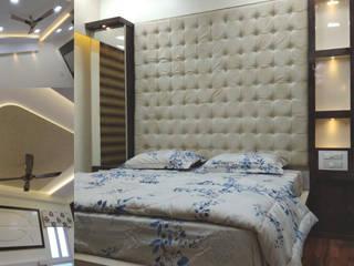 bedroom design by kumar interior thane:   by KUMAR INTERIOR THANE