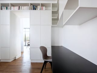 Anne Lapointe Chila Modern study/office