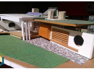 منزل ريفي تنفيذ eco cero - Arquitectura sustentable en Talca, حداثي