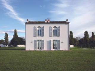 Recupero casato e fienile Case moderne di Studio Galantini Moderno