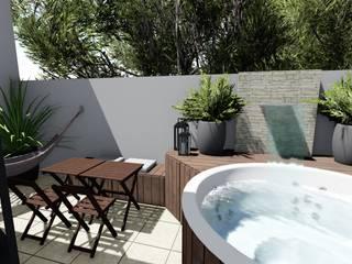 Cláudia Legonde Hot tubs Wood White