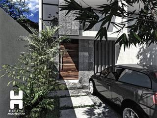 Proyecto de casa habitación: Casas unifamiliares de estilo  por Heftye Arquitectura