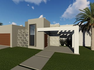 Cláudia Legonde Single family home Concrete Grey