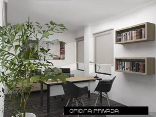 Proyecto de oficina: Estudios y oficinas de estilo  por Heftye Arquitectura