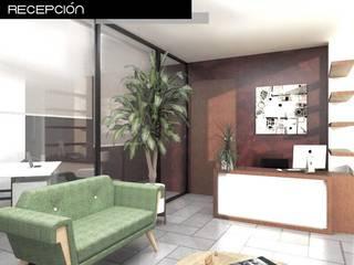 Proyecto de oficina: Salas de estilo  por Heftye Arquitectura