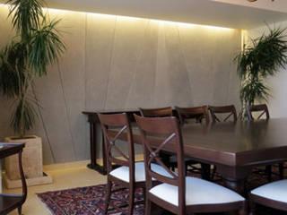 Muro Departamento Interlomas: Paredes y pisos de estilo  por Rokam