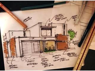 Proyecto VFS-01 Casas modernas de Visualetts Design Studio Moderno