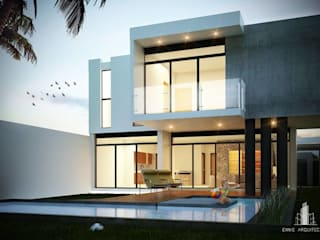by EMME Arquitectos Modern