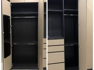 主臥衣櫃內層收納 藏私系統傢俱 臥室衣櫥與衣櫃