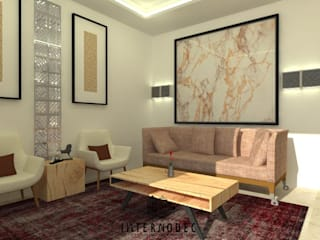 Modern living room by Internodec Modern