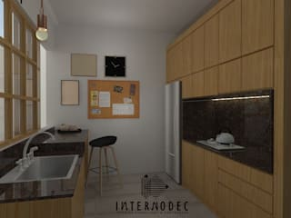 kitchen by Internodec Minimalist