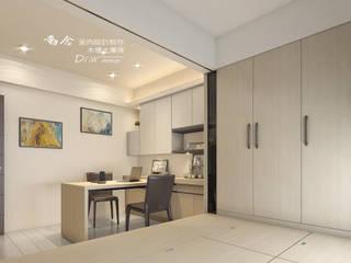 書房/客房/臥室/歐式系統傢俱 木博士團隊/動念室內設計制作 書房/辦公室