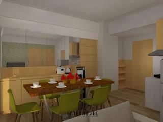 Minimalist dining room by Internodec Minimalist