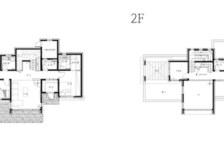 삶이 즐거워지는 철근콘크리트 주택 (경기도 양평군): 더존하우징의 현대 ,모던