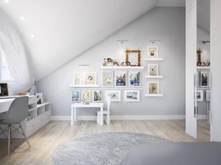 Детская комната для девочек от Оксана Котова Модерн