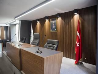 GAZİOSMANPAŞA BELEDİYESİ MECLİS SALONU Modern Çalışma Odası OFİS & OFİS MOBİLYA Modern