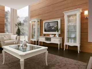 Il soggiorno contemporaneo perfetto:  in stile  di Marzorati s.r.l.