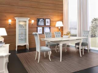 Sala da pranzo contemporanea:  in stile  di Marzorati s.r.l.
