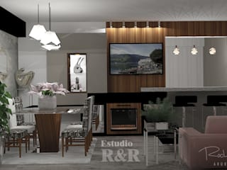 Estudio R&R Modern dining room