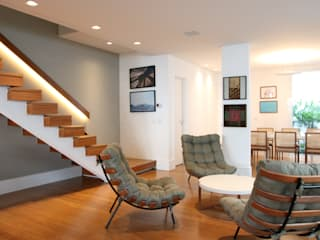 Salones de estilo moderno de ARK2 ARQUITETURA Moderno