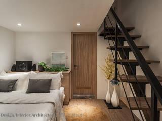 男孩房兼客房: 現代  by Hi+Design/Interior.Architecture. 寰邑空間設計, 現代風 鐵/鋼