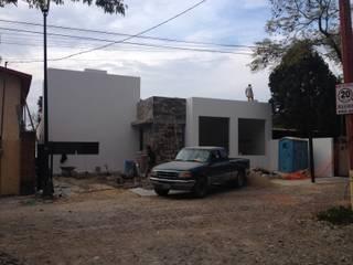 Residencial el Carmen: Casas de estilo  por ALVARO CARRILLO arquitecto